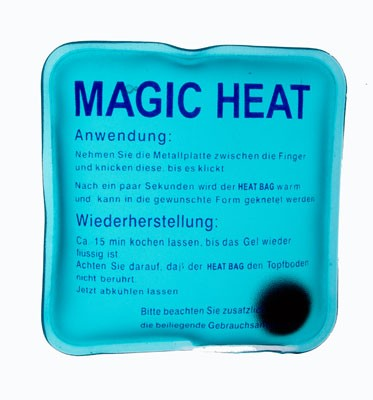 'Magic Heat' wiederaufladbarer Wärmer