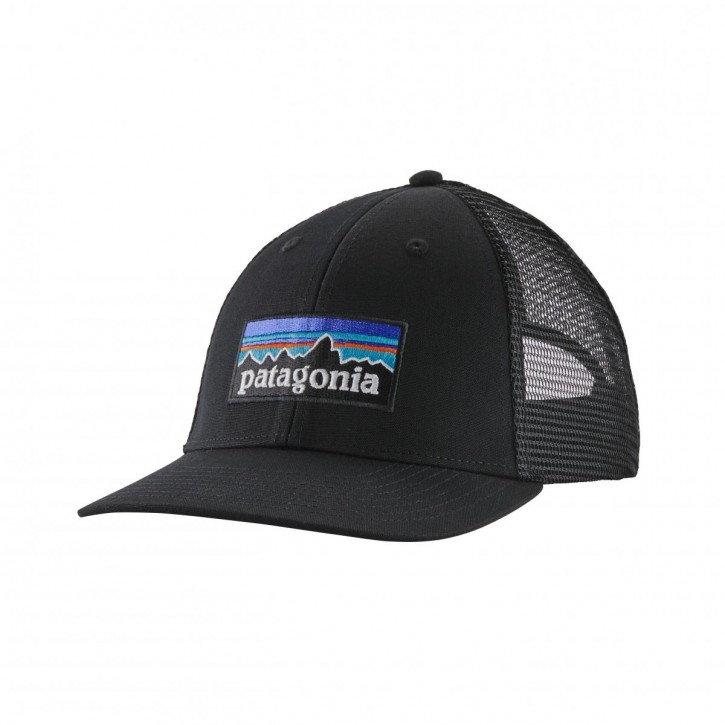 P-6 Logo LoPro Trucker Hat, BLK
