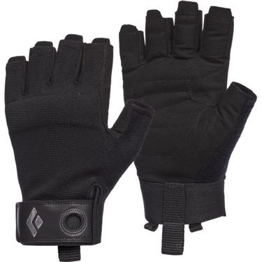 Black Diamon Crag Half-Finger Gloves
