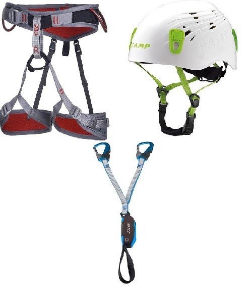 Klettersteig Package 1 - Flint, Titan, Kinetic Rewind Pro