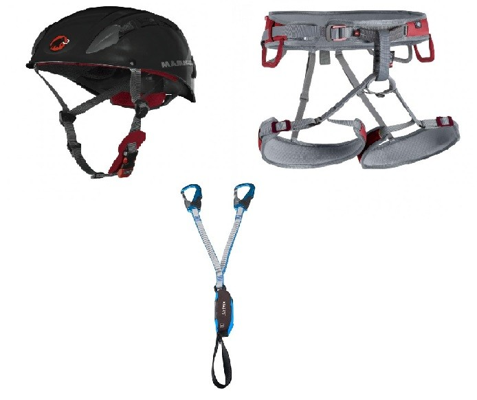 Klettersteig Package 2 - Ophir Speedfit, Skywalker 2, Kinetic Rewind Pro