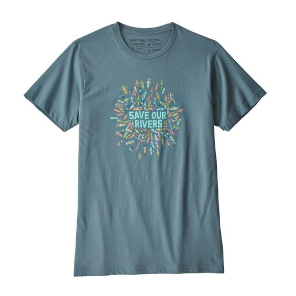M's Save Our Rivers Organic T-Shirt