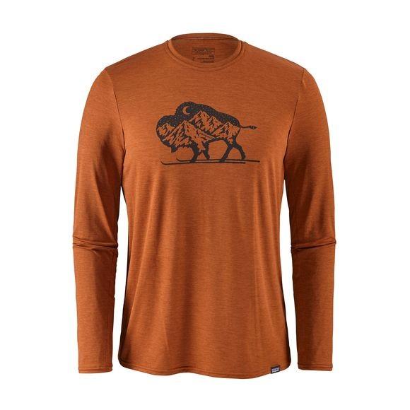 M's Capilene® Daily Long-Sleeved Graphic T-Shirt
