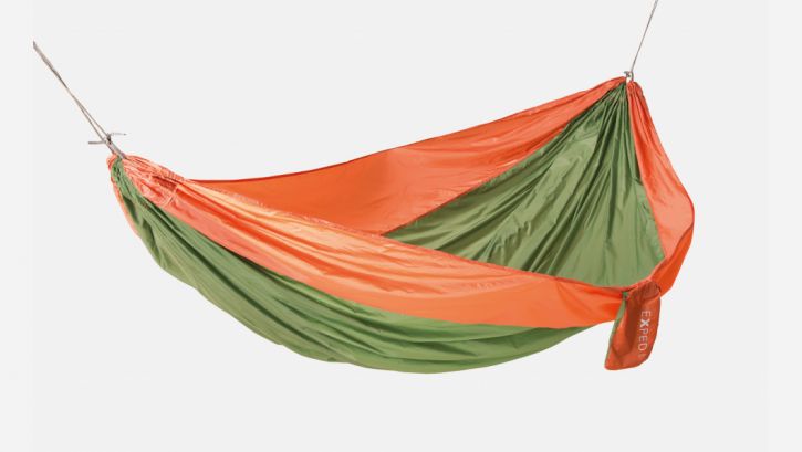 Travel Hammock Duo Plus, Orange-Green