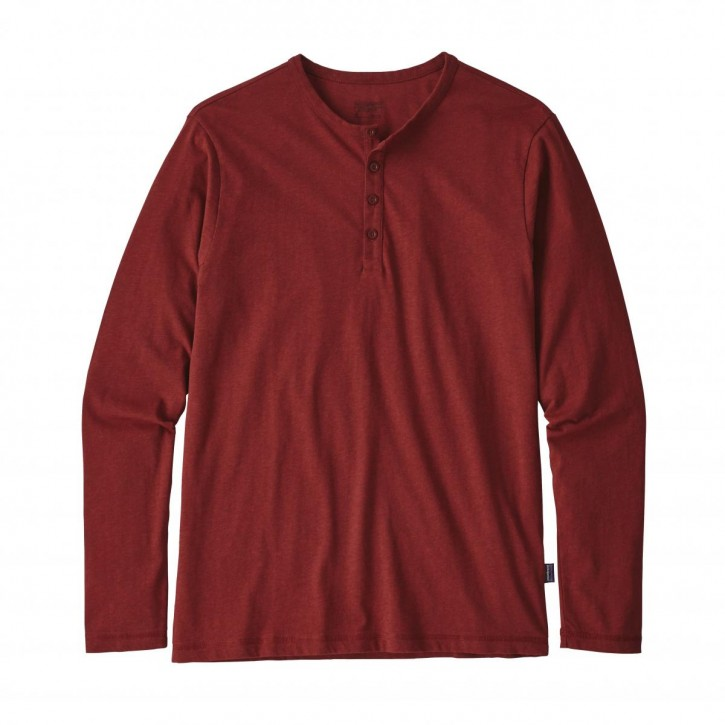 M's Long-Sleeved Daily Henley