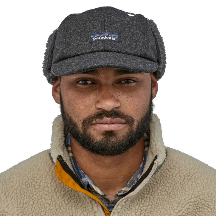 Recycled Wool Ear Flap Cap