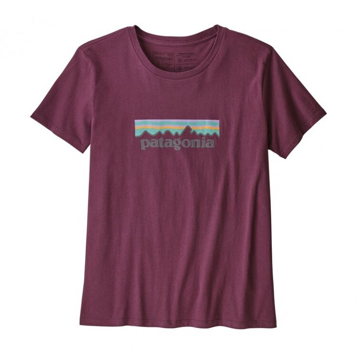 W's Pastel P-6 Logo Organic Crew T-Shirt