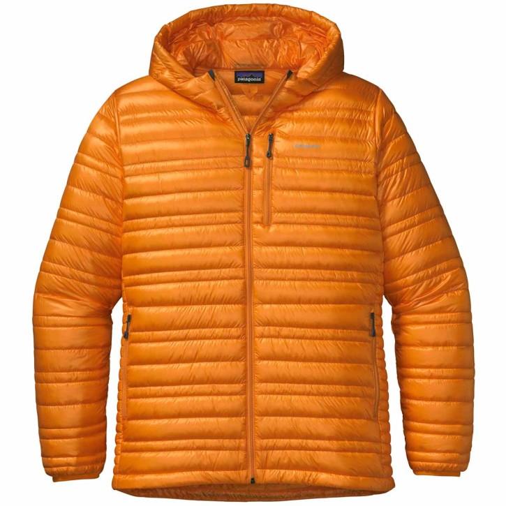 M's Ultralight Down Hoody Sporty Orange L