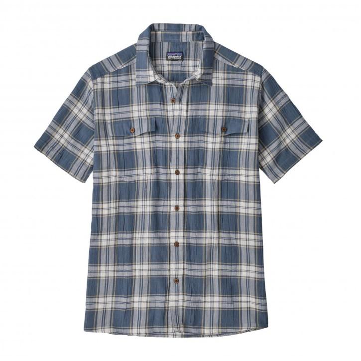 M's Steersman Shirt, Ascent Plaid: Dolomite Blue, M