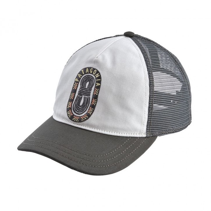 W's Paper Peaks Badge Layback Trucker Hat