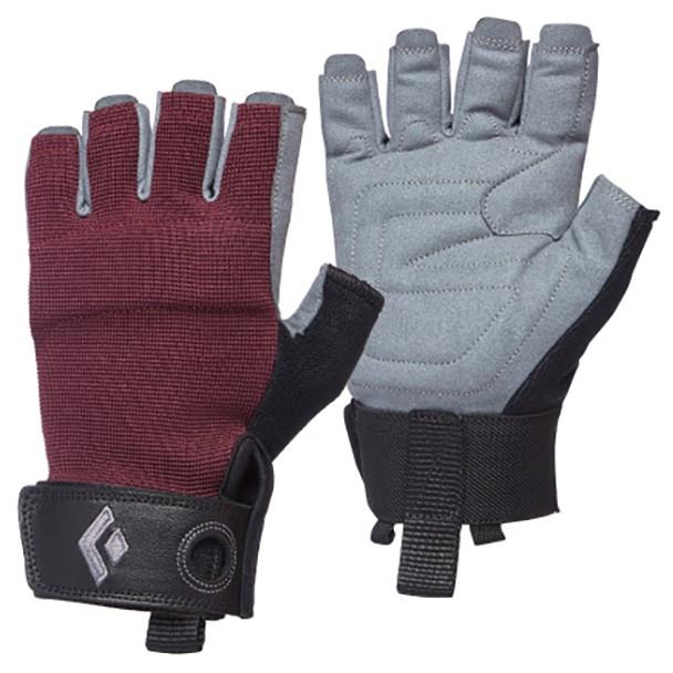 W's Black Diamon Crag Half-Finger Gloves
