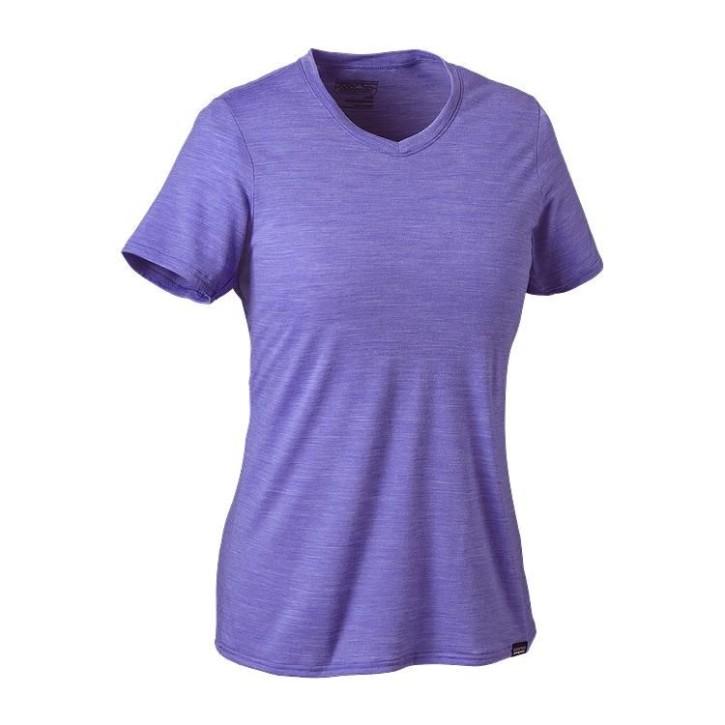 W's Merino Daily V-Neck T-Shirt, Violet Blue, L
