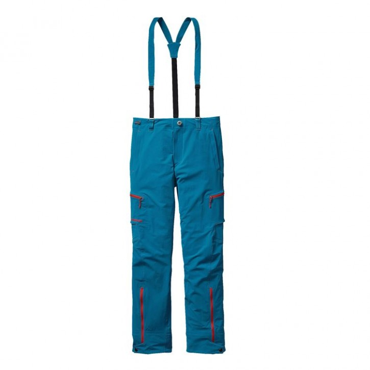 Patagonia M's Dual Point Alpine Pants - Underwater Blue - 34