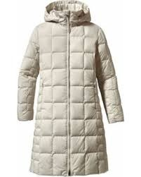 Ws Down With It Parka - Raw White Linen - M