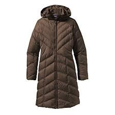 Ws Down With It Parka - Peat Brown Plush - S