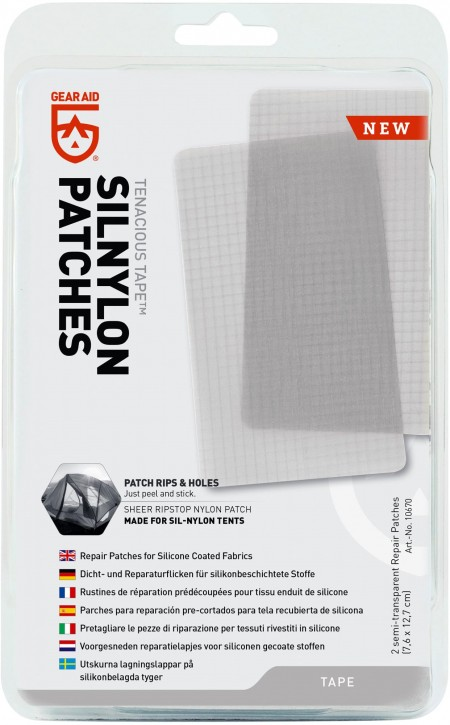 Gearaid 'Tenacious Tape' Silnylon Patches