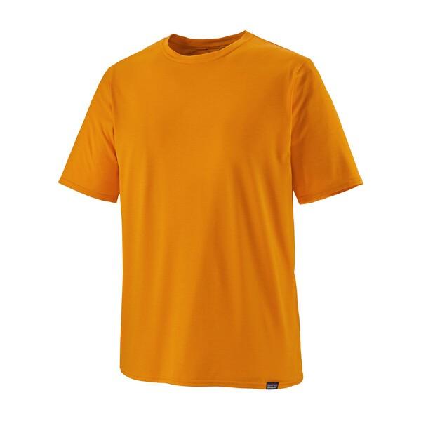 M's Cap Cool Daily Shirt, Light Mango X-Dye
