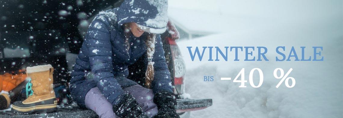 Winter Sale bis -40 %